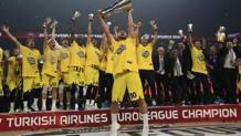 Il Fenerbahce campione dell'ultima edizione di Eurolega. Afp