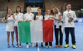 Il Tc Prato campione d'Italia. Costantini