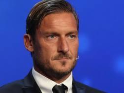 Francesco Totti, dirigente della Roma. Afp