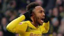 Pierre-Emerick Aubameyang, 28 anni, attaccante del Borussia Dortmund. Reuters