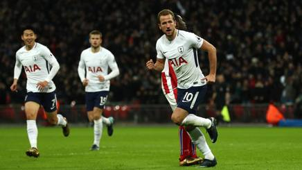 Harry Kane, 6 gol in Champions. LaPresse