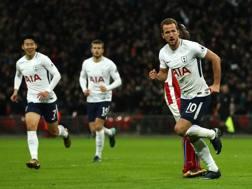 Harry Kane, 6 gol in Champions. LaPresse