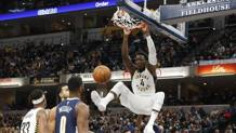 Victor Oladipo, 25 anni, leader degli Indiana Pacers. Reuters