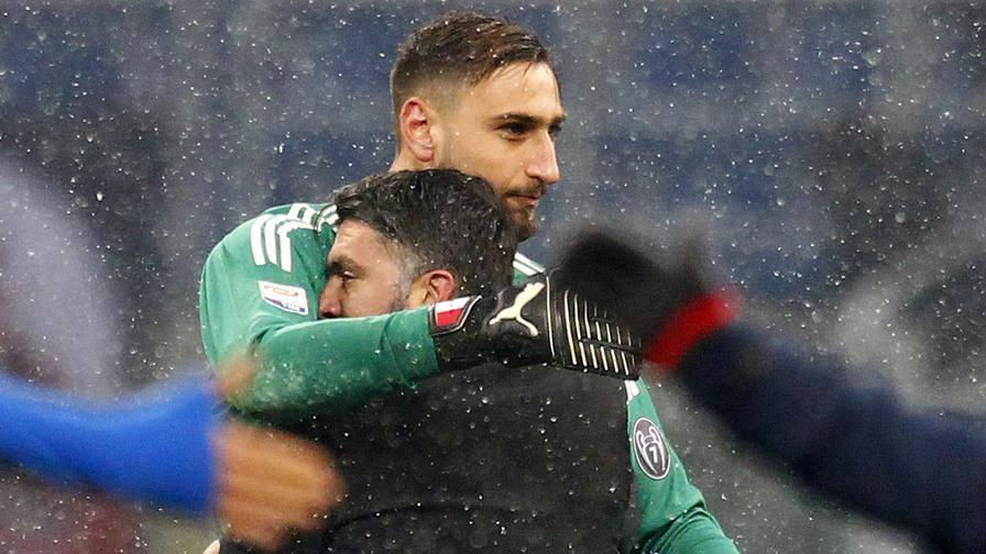 """Gattuso: """"Gigio è tranquillo  Problemi? Ci pensa il club"""""""