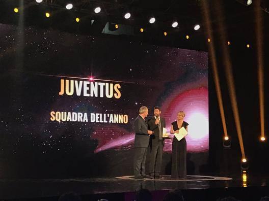Andrea Agnelli (42 anni) premiato ai 'Gazzetta Sports Awards'