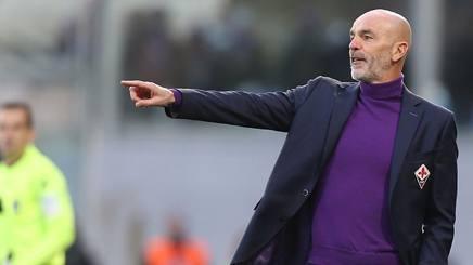 Stefano Pioli, prima stagione alla Fiorentina. Getty
