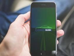 La schermata dell'app Come guidi