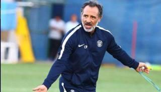 Cesare Prandelli, allenatore dell'Al-Nasr, negli Emirati Arabi