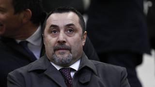 Massimiliano Mirabelli, direttore sportivo del Milan. Lapresse
