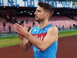 Dries Mertens, 30 anni, attaccante del Napoli Getty