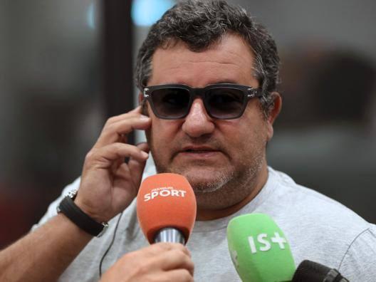 Mino Raiola, 50 anni. AFP