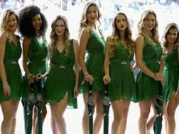 Alcune grid girls dello scorso GP d'Italia