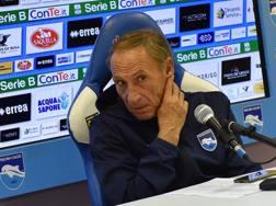 Zdenek Zeman, allenatore del Pescara. Getty