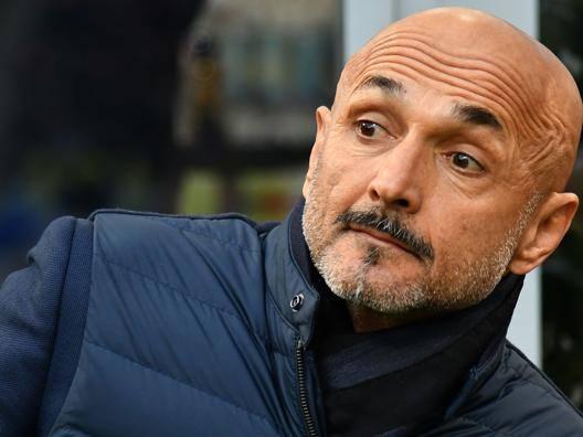 Luciano Spalletti (58 anni), alla prima stagione sulla panchina dell'Inter. AFP