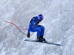 Dominik Paris è l'ultimo azzurro salito sul podio in Val Gardena, nel 2014 AFP