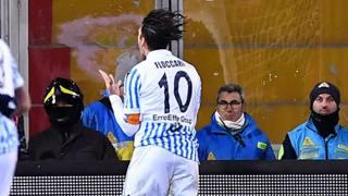 Un'azione del match. Getty Images