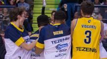 La gioia di Verona dopo il successo su Trieste