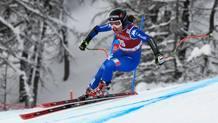 Sofia Goggia, 25 anni: quarto podio a Val d'Isere in carriera. Afp