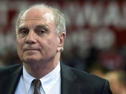 Uli Hoeness, 65 anni, presidente del Bayern Monaco. AFP