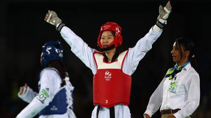 La campionessa olimpica coreana Hye-ri Oh. Getty