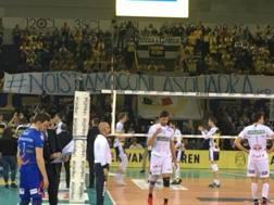 I tifosi di Modena schierati con Ngapeth