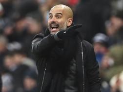 Josep Guardiola, 46 anni, è il tecnico del Manchester City Getty
