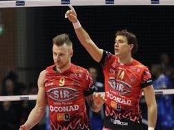 Ivan Zaytsev e Aleksandar Atanasijevic, stelle di Perugia campione d'inverno