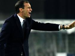 Massimiliano Allegri (50), quarta stagione sulla panchina della Juventus. AFP
