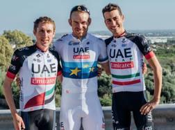 Dan Martin, Alexander Kristoff e Fabio Aru: le stelle Uae Emirates