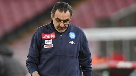 Maurizio Sarri, 58 anni, è il tecnico del Napoli Getty