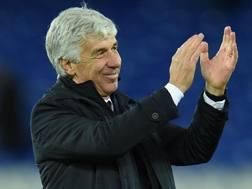 Gian Piero Gasperini (59), seconda stagione sulla panchina dell'Atalanta. AFP