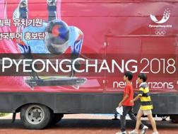 La promozione dei Giochi di PyenogChang. Epa