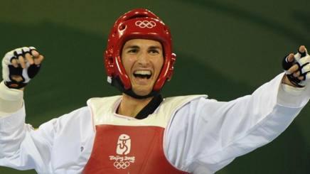 Mauro Sarmiento, 34 anni, durante Pechino 2008