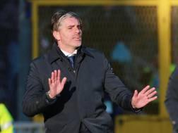 Diego Lopez, allenatore del Cagliari. Ansa