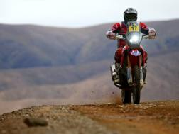 Paulo Goncalves alla Dakar 2017. Getty