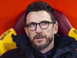 Eusebio Di Francesco (48 anni), prima stagione sulla panchina della Roma. ANSA