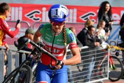 Eva Lechner, 32 anni, nove titoli italiani di cross. Bettini