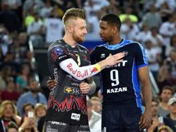 Ivan Zaytsev e Wilfredo Leon: da rivali a compagni? Inside