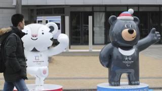 Le mascotte dei Giochi: Bandabi e Soohorang