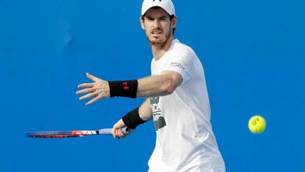 Andy Murray, 30 anni. Epa
