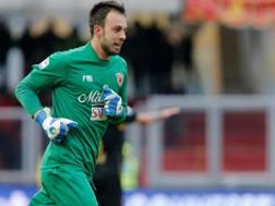 Alberto Brignoli (26 anni), prima stagione al Benevento. ANSA