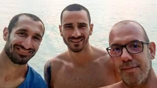 Chiellini e Bonucci insieme alle Maldive