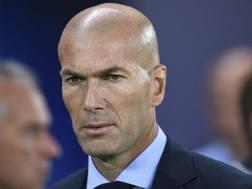 Zinédine Zidane, 45 anni, allenatore Real Madrid. EPA