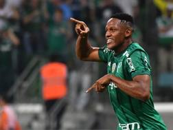 Yerri Mina, 23 gol, 7 gol nell'ultima Copa Libertadores. Afp