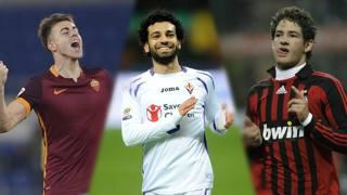 El Shaarawy, Salah e Pato hanno esordito con Roma, Fiorentina e Milan a stagione in corso.