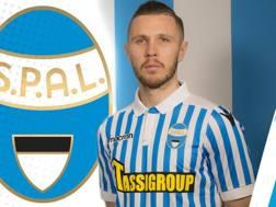 Jasmin Kurtic, 29 anni, nuovo centrocampista della Spal. @spalferrara