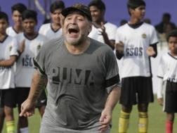 Diego Armando Maradona, 57 anni. Ap