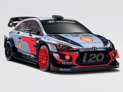La nuova Hyundai i20 per il Mondiale rally 2018