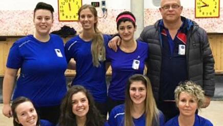 Le atlete de La Boccia  Carcare, squadra leader del campionato