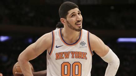 Enes Kanter, 25 anni, New York Knicks. AP